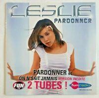 LESLIE (cd original neuf fun radio) / PARDONNER (Cutee B REMIX) ♦ NEW CD ♦