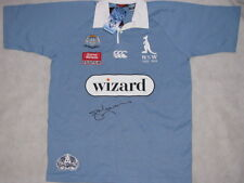 MARK GASNIER Hand Signed 2008 NSW Jersey  Huge FULL Signature