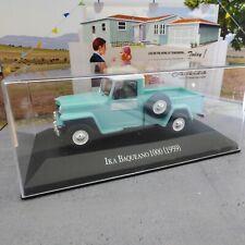 Voiture1/43 SALVAT IKA Baqueano 1000 (1959) Willys Jeep Truck argt