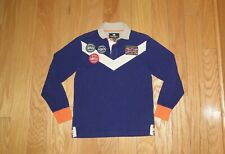 Hackett London Rugby Shirt Size S Blue Men's Rugby Shirt Essential British Kit
