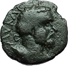SEPTIMIUS SEVERUS 193AD Anchialus Authentic Ancient Roman Coin CYBELE i66356