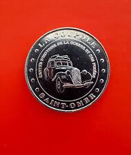 Monnaie de Paris - La Coupole Saint-Omer 1999 Jeton Touristique Traction Citroen