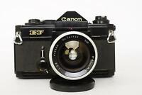 Canon EF camera body + Pallas 35mm 1:2.8 (Canon FD mount)