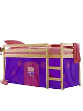 Purple and Pink tent for a Wooden Midsleeper