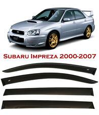 For Subaru Impreza Sed/Wag 00-07 Window Smoke Visor Rain Sun Guard Deflectors