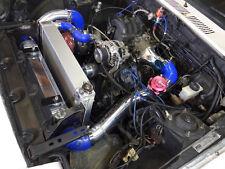 Single Turbo Manifold Downpipe Intercooler Kit For Mazda RX7 RX-7 SA FB 13B Blue