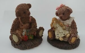 """Cottage Collectibles 'Everyone needs a hug' & 'Maxwell-ABC's"""" a0321 a0233"""