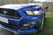 Ford Mustang 2.3 Ecoboost (Custom Pack), Manual, Deep Impact Blue, Upgrades