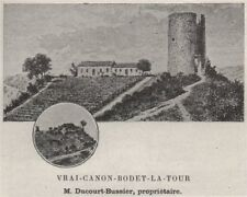 FRONSADAIS. SAINT-MICHEL-DE-FRONSAC. Vrai-Canon-Bodet-la-Tour. SMALL 1908