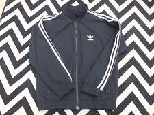Vintage Adidas Unisex Firebird Track Jacket Original TriFold Logo Size Large