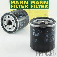 2x MANN FILTER W 68/3 Ölfilter Anschraubölfilter Toyota Corolla MR 2 RAV 4 Yaris