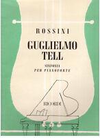 Rossini Sinfonie Aus Wilhelm Tell Für Klavier - Erinnerungen
