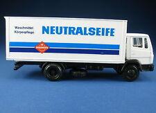 NZG 250-Mercedes MB ln maleta-camión-hakawerk neutral jabón - 1:50 - maqueta de coche