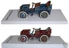 PORSCHE MUSEUM Esclusivo: lohner-porsche Mixte 1901 BLU U.Marrone-rosso -