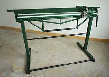 Bending Brake Machine Sheet Metal Folder Bender 1300mm + CUTTER