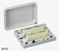 """GENUINE """"KRONE 201D"""" Connection Box 20 Pair """"NEW"""" with 2 x 237A Strip Connectors"""