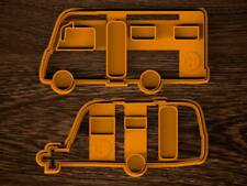 Biscuit Cookie Cutter Caravan Trailer Shape Mold Form Party Food Cake Camping