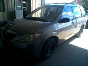 Passenger Rear Side Door Electric Tinted Glass Fits 02-06 MAZDA MPV 592467