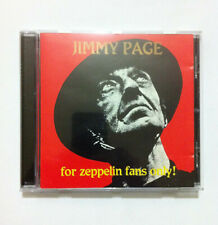 Jimmy Page For Zeppelin Fans Only live- Limited Unofficial CD