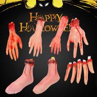 Eg _ Halloween Tricky Jouet Saignant Main Pied Doigt Haunted House Fête Décor