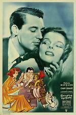 73397 BRINGING UP BABY Cary Grant Katharine Hepburn Wall Print POSTER Plakat