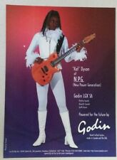 New ListingNew Power Generation Kat Dyson Godin Full Page Print Ad magazine clipping N.P.G.