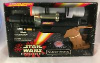 Vintage Star Wars Episode I Air Pressure Super Soaker Naboo Pistol New & Sealed