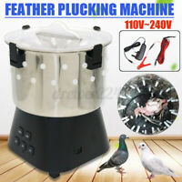 Chicken Dove Feather Plucking Dry off Machine Poultry Plucker Birds Depilator