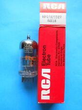 1 x 6BQ7A / 6BZ7 / 6BS8 RCA Made in U.S.A. BLACK PLATES TESTED NOS - NIB
