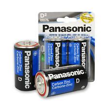 4x Panasonic D Batteries Super Heavy Duty Battery Pack,  UM-1NPA