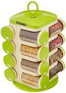 Indian Revolving Spice Rack set (16 pieces)