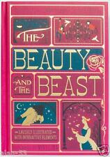 BEAUTY AND THE BEAST ~ ILLUS by MINALIMA w/ Interactive Elements LEATHER GIFT ED