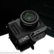 Gariz Leica D-LUX Half Case + Gun-Shot Strap Set Black For D-LUX Typ 109 DLUX