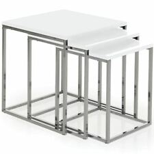 Less than 60cm Square 3 Nested Tables with Flat Pack