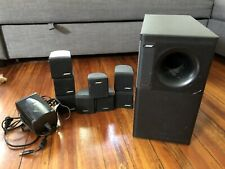 Bose Acoustimass 600 Home Theater 5.1 Speaker System Subwoofer 8 Cubes