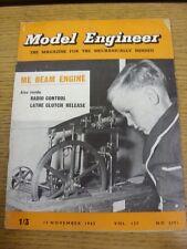 15/11/1962 revista el ingeniero Modelo: Vol. 127 no 3201 (arrugada)
