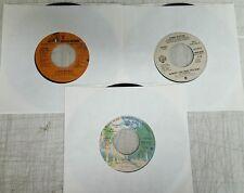 Miscellaneous Lot of 3 45's Sinatra, Candi Stanton, Uriah Heep All Promo's