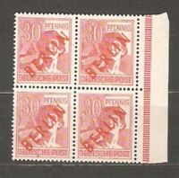 GERMANY LOT Sc 9N27 9N28 BL4 9N29 9N33 MINT NH ALL SIGNE VF SEE SCAN