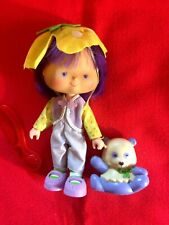 "Vintage Strawberry Shortcake Doll ""Almond Tea & Marza Panda"" 1979 & 1983"