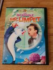 The Incredible Mr. Limpet Warner Bros Movie Dvd Don Knots 2002 Version