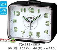 AUSSIE SELLER CASIO ALARM DESK CLOCK TQ-218-1BDF TQ218 NEW 12 MONTH WARRANTY