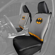 Car Sideless Seat Covers DC Batman Detachable Cape Front Set Auto Truck SUV Van