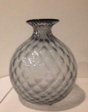 Venini italy Monofiori Balloton Vase Vaso Glass  Murano