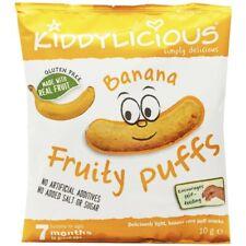 Kiddylicious Banana Fruity Puffs 7+ Months 10g