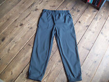 Cos grey trousers polyamide stretch light S M Lagenlook