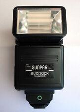 flash per olympus TTL AUTO 30 DX Sunpak OT-1D per OM2 OM2n OM1n OM10 OM 1 2 2n 1