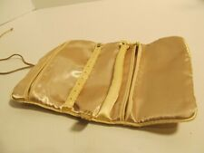 Roll-up Travel Jewelry Bag Gold