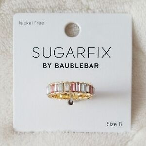New Sugarfix by Baublebar Multi Color Ring size 8