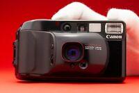 Canon Sure Shot Supreme/Top Shot/Autoboy 3 &Case Point & Shoot camera 1980s Lomo