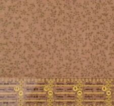 Compose Tiny Floral by David Textiles BTY Olive Branch Tone on Tone Blender